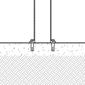 Diagram of flanged bolt down bollards