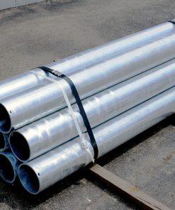 Bundle of R-1007-06 steel pipe security bollards