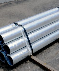 Bundle of R-1007-10 steel pipe security pipes