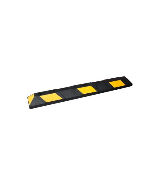 R-2004 yellow and black parking stop
