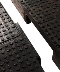modular rubber speed bumps connection