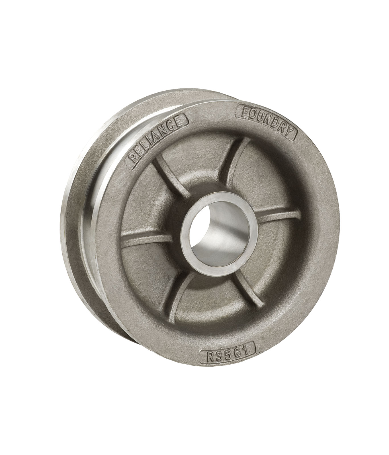 R-3561 Double Flanged Wheel