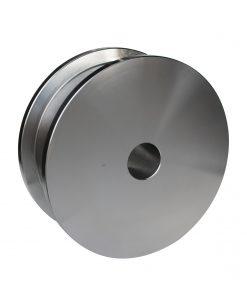 R-3686-M machined steel industrial wheel