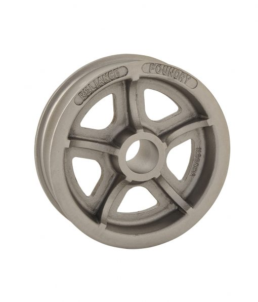 R-3688-A double flanged industrial steel wheel
