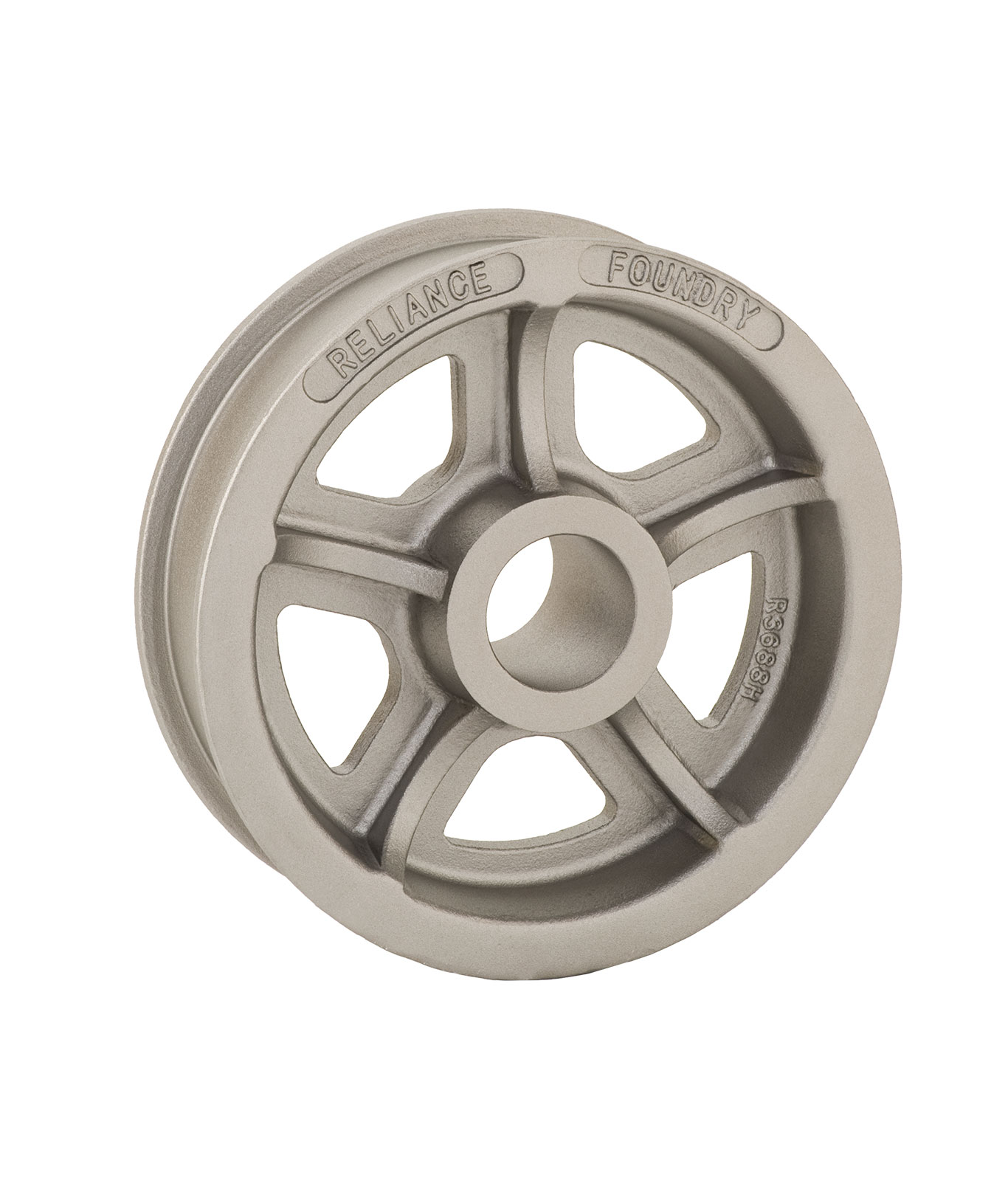 R-3688-H Double Flanged Wheel