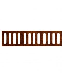 R-4989 type A trench drain, 6 inch width and wide grate slots