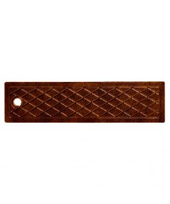 R-4989 type D trench drain lid with 6 inch width and solid lid