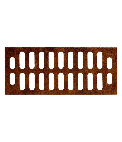 R-4990-BX type A trench drain with 10 inch width and wide grate slots
