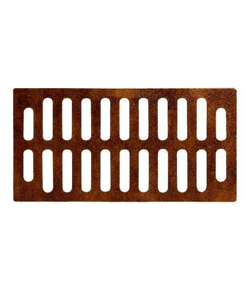 R-4990-CX type A trench drain with 12-inch width and wide grate slots