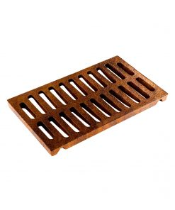 R-4990-DX type A trench drain with 14-inch width and wide grate slots