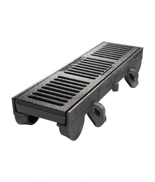 R-4990 trench grate frame with 24 inch width