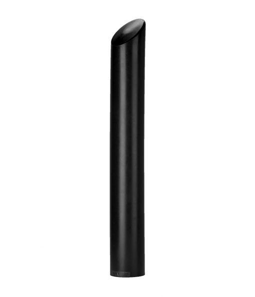 Black R-7175 decorative plastic bollard cover