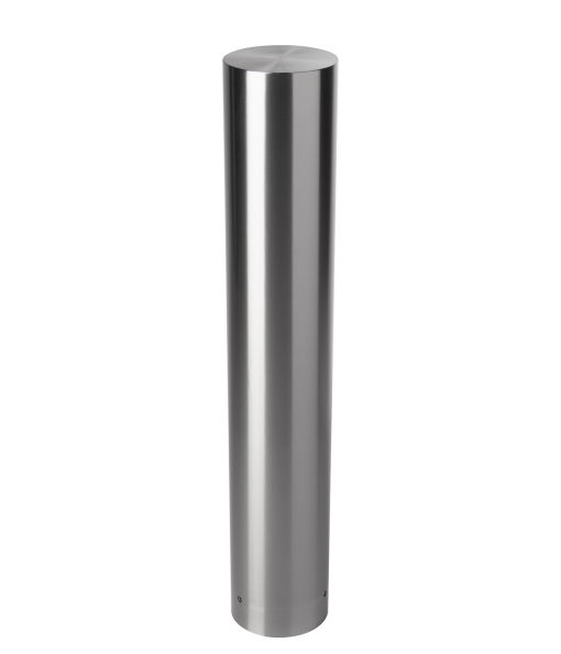 R-7303 stainless steel bollard covers with flat top