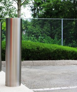 R-7307 stainless steel bollard covers outdoors