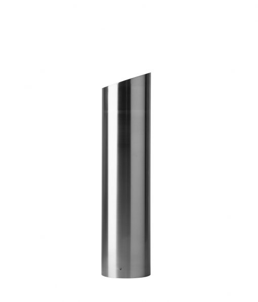 R-7310 angle-top stainless steel bollard cover
