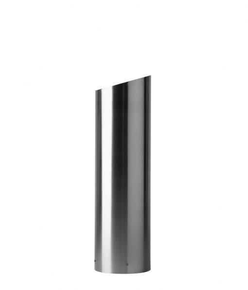 R-7314 stainless steel slant-top bollard cover