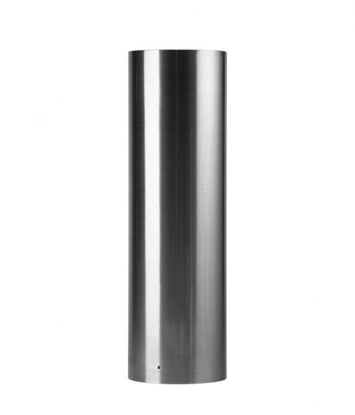 R-7315 flat-top stainless steel bollard covers
