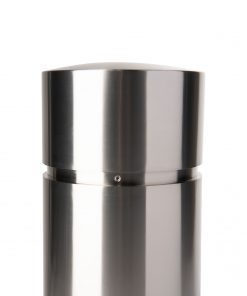 R-7341 stainless steel security pipe cover close up