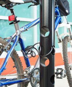 R-7972 steel bike parking bollard