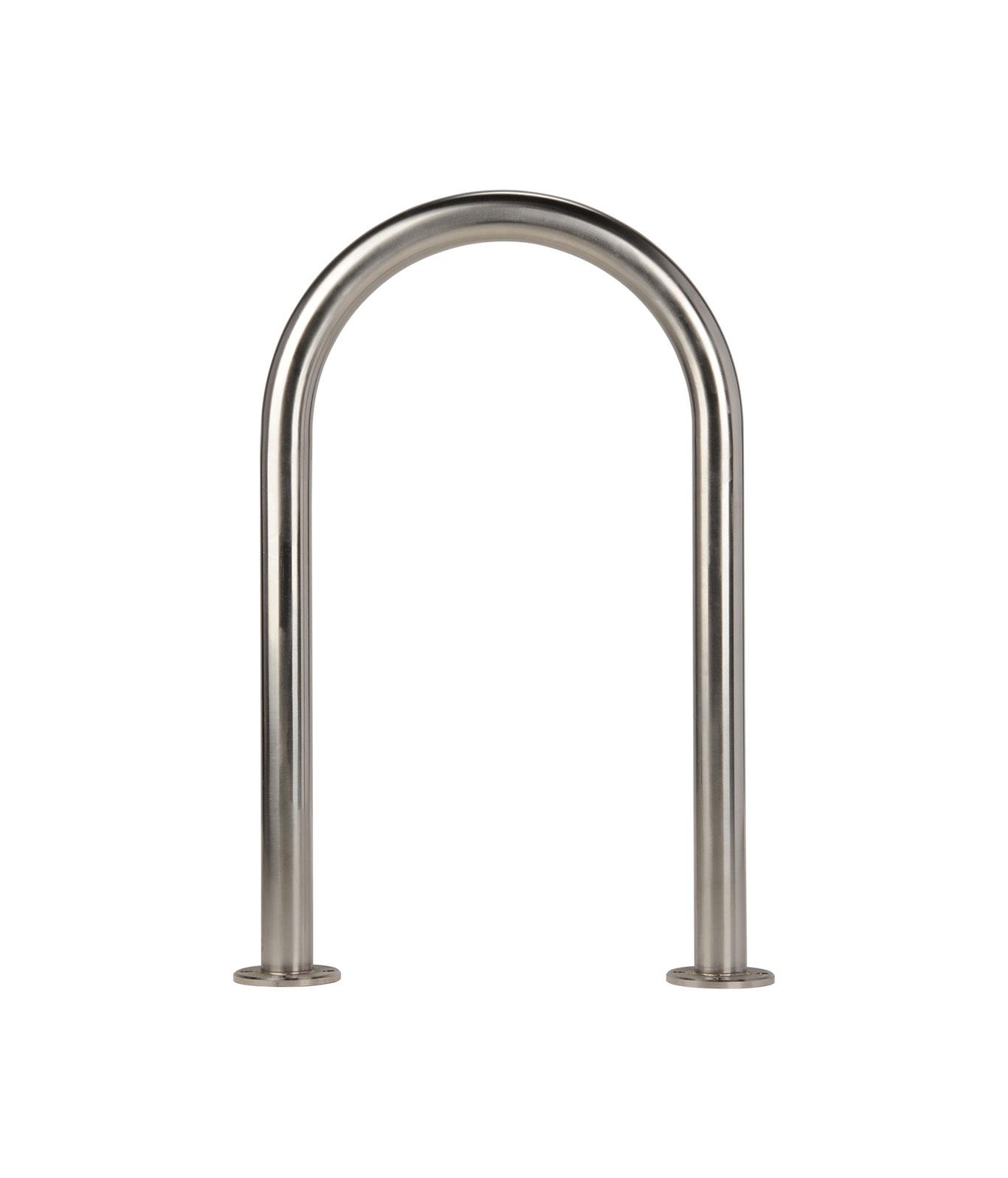 R-8238-SS stainless steel U bike rack