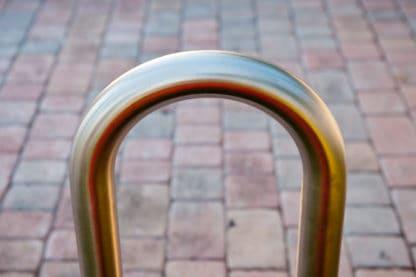 R-8239-SS stainless steel bike rack