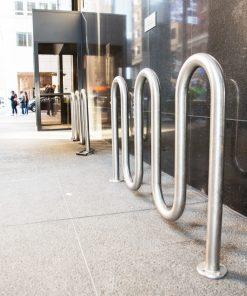 R-8240 stainless steel bike rack