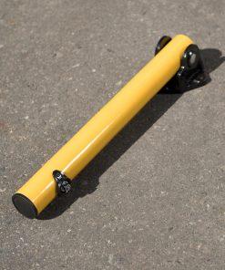 R-8430 collapsible bollard on ground