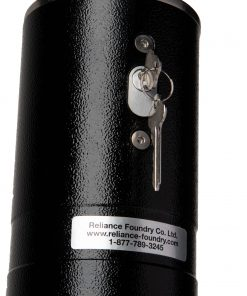R-8464-RA powder coating removable bollard locking hardware