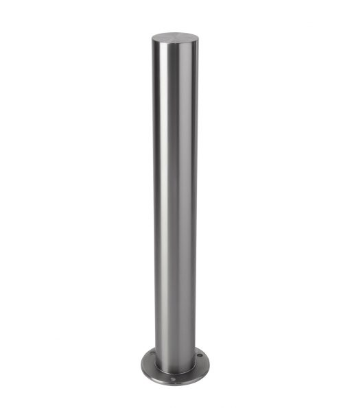 R-8907 stainless steel bollard flanged base