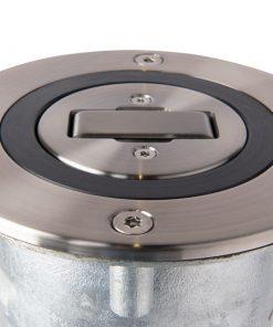 R-9471 single locking retractable bollard