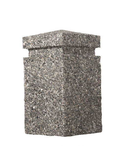 R-9703 concrete bollard top