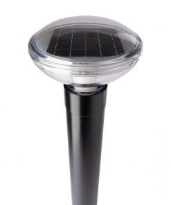 R-9821 solar bollard high angle.