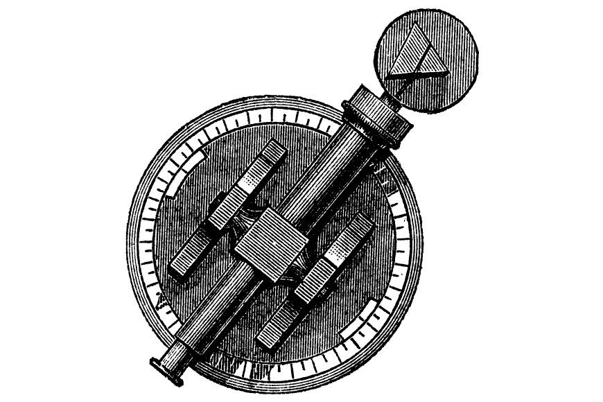 Josef Von Fraunhofer's spectrometer