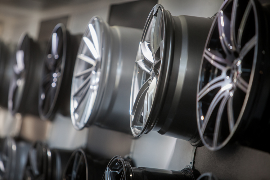 Aluminum wheels produced from permanent mold aluminum casting