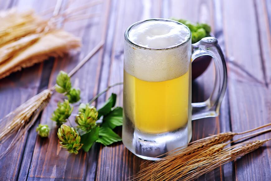 craft beer with flavor