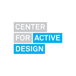 Text based logo saying Center for Active Design