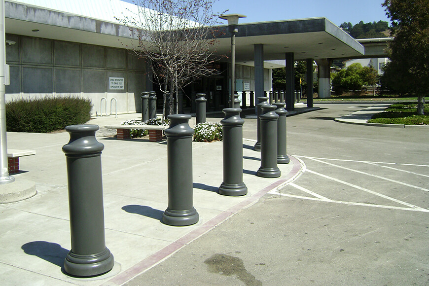 ornamental plastic security post covers