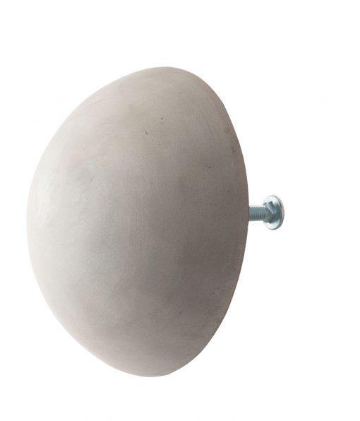 concrete bollard cap for steel pipe