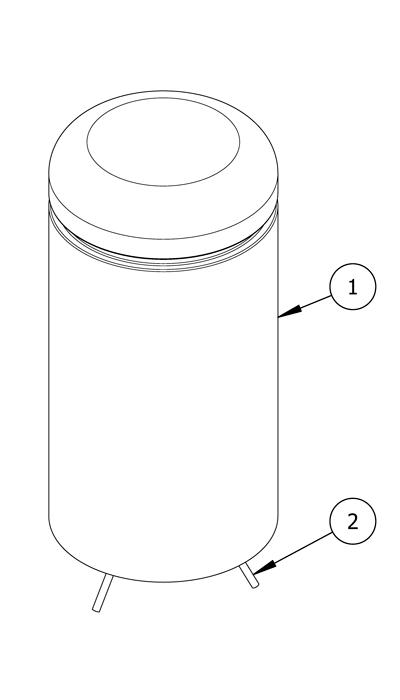 Diagram of parts list
