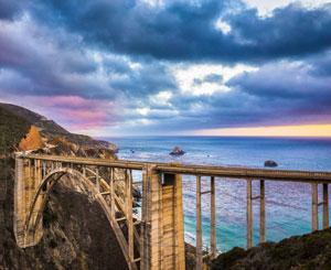 Historic concrete bridge
