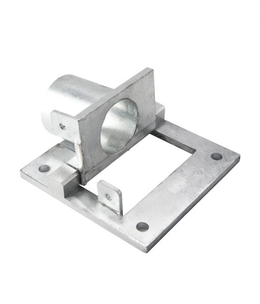 galvanized steel collapsible bollard mounting