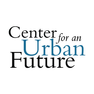 Text based logo saying Center for an Urban Future