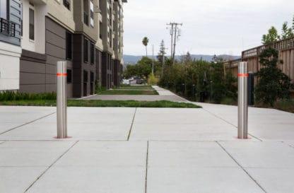 stainless steel bollards for residential area