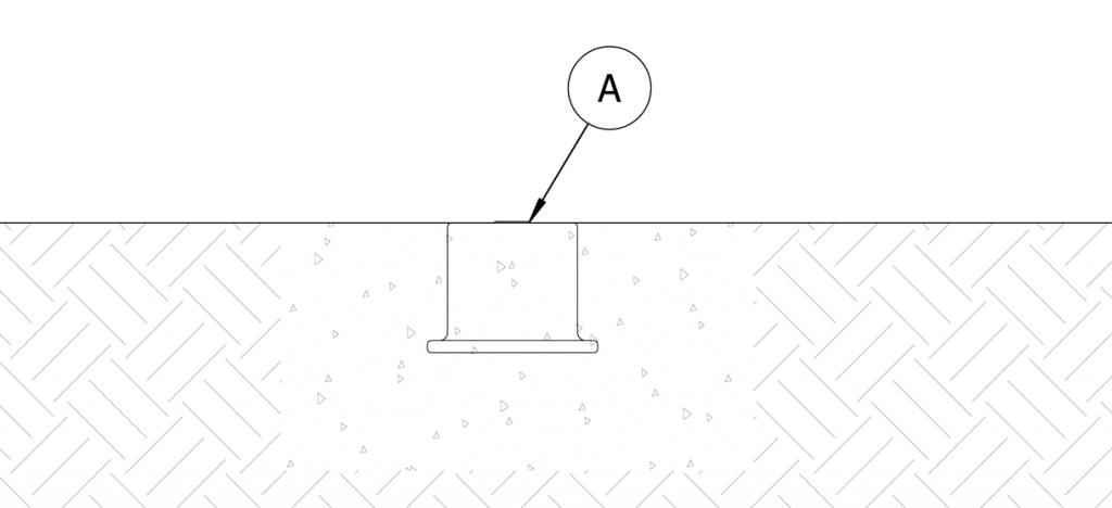 Diagram showing concrete in site