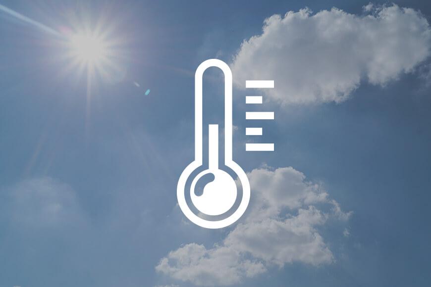 working temperature graphic