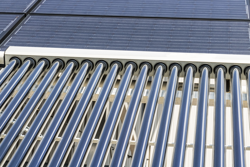 Solar thermal flat panels