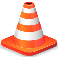 Illustration of a traffic cone